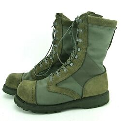 Corcoran Marauder Green Jump Boots Size 11 R 87546fr Composite Safety Toe