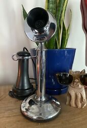 Western Electric Nickel Plated Candlestick Telephone, Operational