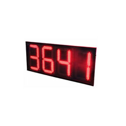 24 Led Gas Station Electronic Fuel Price Sign Motel Price Sign 8888 Red Color