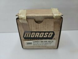 Vintage Nos Moroso Connecting Rod Bolts 3888 Big Block Chevy For 396-454