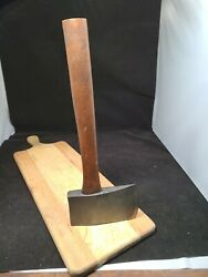 Large Poll Axe Collectible Hatchet Vinage Hunting Tool Ax 1800and039s