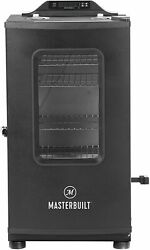 Masterbuilt Mb20073519 Bluetooth Digital Electric Smoker With Broiler, 30 Inch