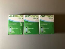 100 One Touch Ultra Blood Glucose Test Strips - Exp 02/28/2022 1 Box