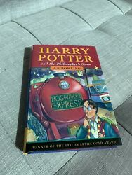 Harry Potter And The Philosopher's Stone, Jk Rowling, First Edition, 4th Print