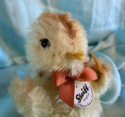 Brand New Nwt Steiff Williams And Sonoma Exclusive Mohair Chick Easter 683183