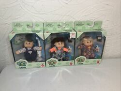 Cabbage Patch Kids Baby And Kid Collectible 1995 Mattel Lot Of 3 Winona Kasey Ect