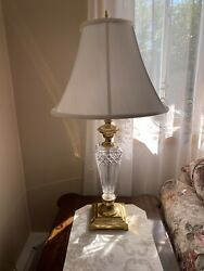 Waterford Crystal Lamps Lissadel Pair Of 31andrdquo Lamps Made In Ireland