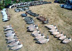 125 Duck Decoys With Vintage