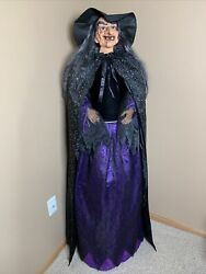 Life Size Witch Halloween Spooky Haunted House Prop Decoration