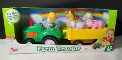 Navystar Farm Tractor Trailers Animals W Sounds And Music Toy 40 Tunes Nib