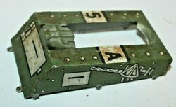 1953 Vintage Engine Cover Tin Part For Marx Doughboy Wind Up Tank Toy