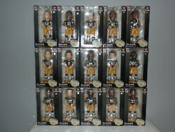 Green Bay Packers Super Bowl 45 Xlv Bobblehead Complete Set Of 15 Nfl