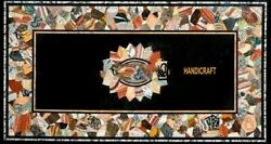 3and039x2and039 Marble Dining Coffee Corner Center Inlay Table Top Antique Mosaic O139