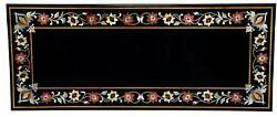 4'x2' Marble Table Top Antique Mosaic Dining Coffee Corner Center Inlay O144
