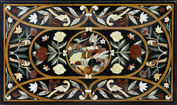30and039and039x17and039and039 Marble Table Top Antique Mosaic Dining Coffee Corner Center Inlay O146