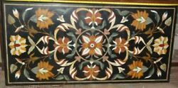 3and039x2and039 Marble Table Top Antique Mosaic Dining Coffee Corner Center Inlay O158