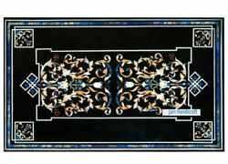 3and039x2and039 Marble Table Top Antique Mosaic Dining Coffee Corner Center Inlay O159