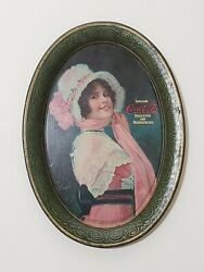 1914 Coca Cola Tip Tray This Is The Famous Betty Tip Tray