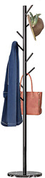 Untyo Coat Rack Marble Chassis 8 Hooks Super Easy Assembly No Tools Required For