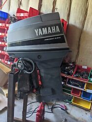 1987 70 Hp Yamaha 20 Outboard Motor Good Compression Needs Lower Unit And Trim