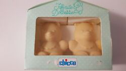 Chicco Bear Shape Baby Soap Infinite Dolcezze Milk Based Two Pieces X 100 G.