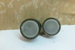 2 Nos Lucas Military Rear Reverse Light Vintage Classic Trailer Motorcycle