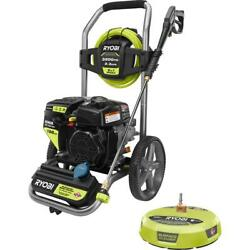 Ryobi Gas Pressure Washer 3200 Psi Cold Water 196cc Kohler 15 In Surface Cleaner