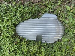 Mpd Finned Outer Primary Cover For Harley Davidson Ironhead Xlch