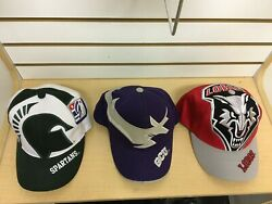 Big Logo The Game Hat Lot New Mexico Lobo's Michigan State Spartans Antelopes