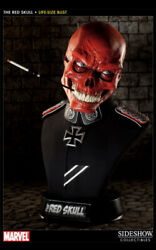 Sideshow Collectibles Red Skull 11 Life Size Bust Statue