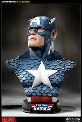 Sideshow Collectibles Captain America 11 Life Size Bust Statue