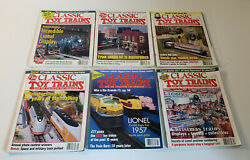 Lot Of 54 Classic Toy Trains Magazine From 1997-2004 - Model Trains Nice Lot