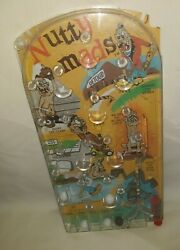 Vintage Marx Nutty Mads Pin Ball Table Game Exc. Rare 44.99