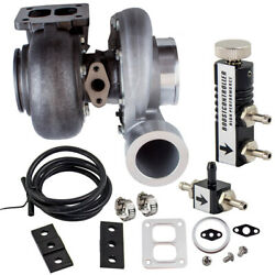 Gt45 Turbocharger T4 V-band 1.05 A/r Boost+boost Controller For Mazda Cx-9 Sport