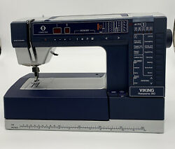 Husqvarna Viking 990s Computerized Embroidery/sewing Machine For Parts/repair
