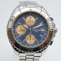 Breitling Chrono Shark A13051 Chronograph Automatic Men's Watch Used