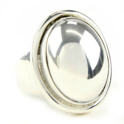 Georg Jensen Ring Sv925 Moonlight Blossom 46a Us Size 5.5 Auth
