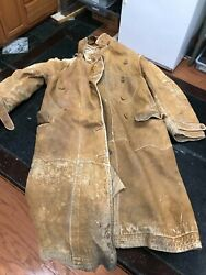 Ww1 American And Allied Combat Flight Coat Hat And Boots - Ca. 1915 - 1918