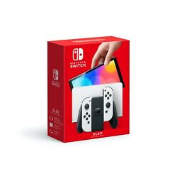 Nintendo Switch Oled Model White Joy-con Brand New Preorder + Free Delivery