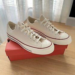 Converse Chuck 70 Low Top Parchment Shoes Chuck Taylor All Star Brand New W/box