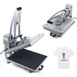 15.719.7t-shirt Hot Stamping Machine/adjustable Pressure/emrgency Stop Button