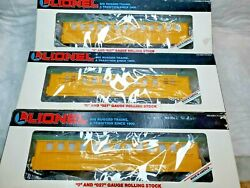 0 Scale Lionel Virginia And Truckee 3 Car Set 6-16010,11,12.