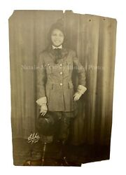 Vintage 1920s Ny African American Stage Actress Jazz Age Signed Photo