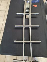 316 Stainless Steel Telescoping Dive Door Ladder With Mounting Plate