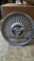 Ford Mustang Falcon Fairlane Wire 14 Spoke Hubcaps 1963 1964 1965