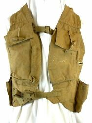 Ww2 British Army Tropical Load Bearing Assault Vest