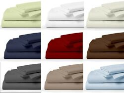 Empire Home Soft King/queen Bed Sheet Available In All Colors Over Stock Sale