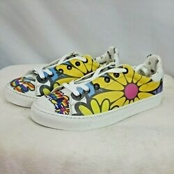 Neef Goby Peace And Love Designed Shoes Sz 8.5 Euro 39