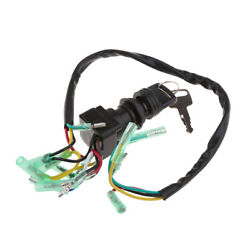 Ignition Switch Key Replacement Outboard Motor Pn 703-82510-43-00 Black