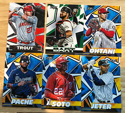 2021 Topps Fire Baseball RCs amp; Vets #1 200 You Pick Complete Your Set